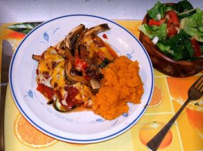 marvelous eggplant dinner