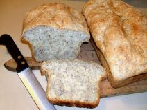 Twelve Grain Poppyseed Bread