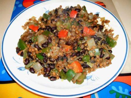 black bean lentil gumbo