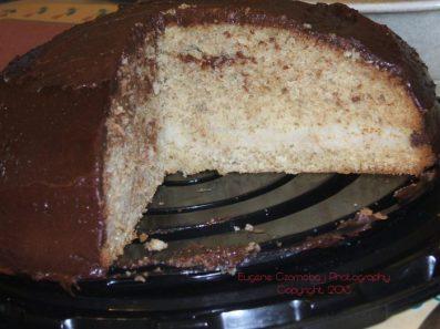 chocolate cake custard ctr