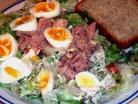 egg tuna salad