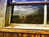 Barn window refections