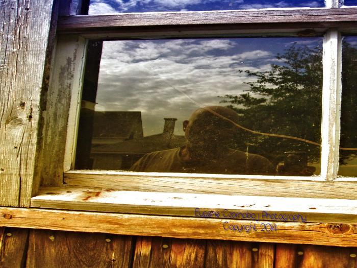 Barn window refections
