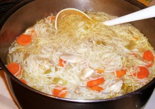 March 4 chicken soup