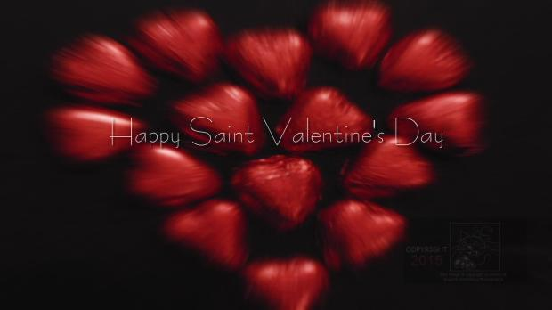 Saint Valentine's Day means commerce profits from candy, greeting cards, flowers etc.