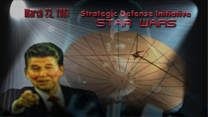 Reagan proposed Star War on March 23, 1983.