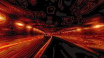 Race to bottom on autoroute 13 into ravenous maw of death, its tunnel.