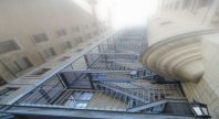 Staircase to Heaven found at The Chateau Apartments downtown Montreal.