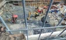 Construction beneath your feet on Montreal project.