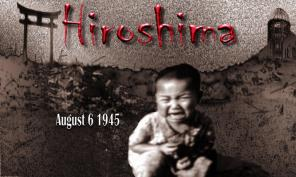 """The Hiroshima pyre unleashed by """"Little Boy"""" destroyed five square blocks incinerating thousands alive."""
