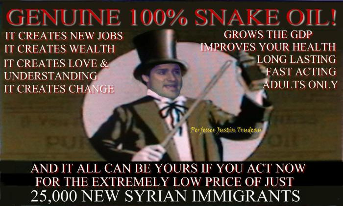Perfesser Justin's Snake Oil Cure magically heals sickness promotes love and understanding.