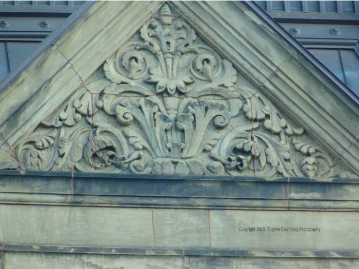 Canada's ornate heritage depicted shows its rich history.