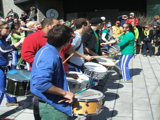 Earth Day war drums beat loud to drown out climate change opposition.
