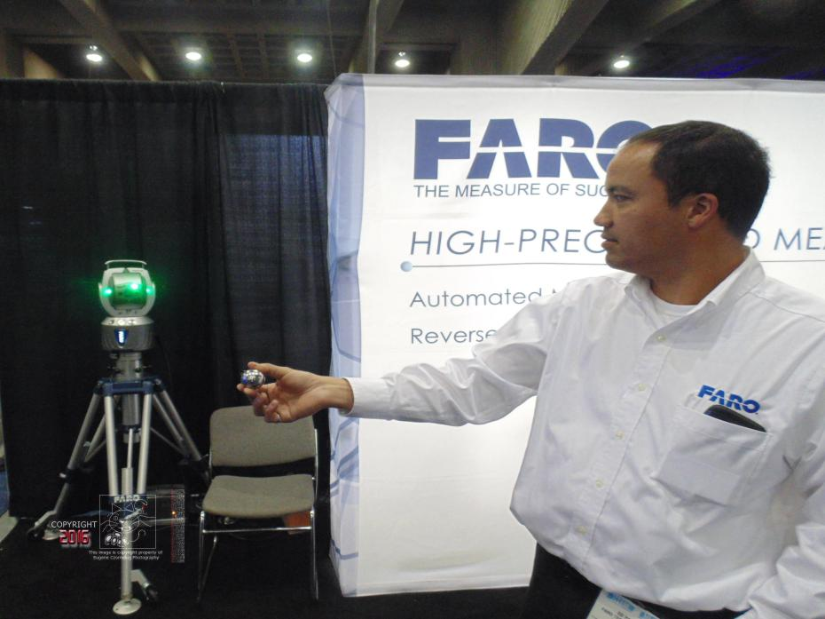 An epitome of modern advancement the FARO EDGE SCANARM is miracle twenty-first century technology.