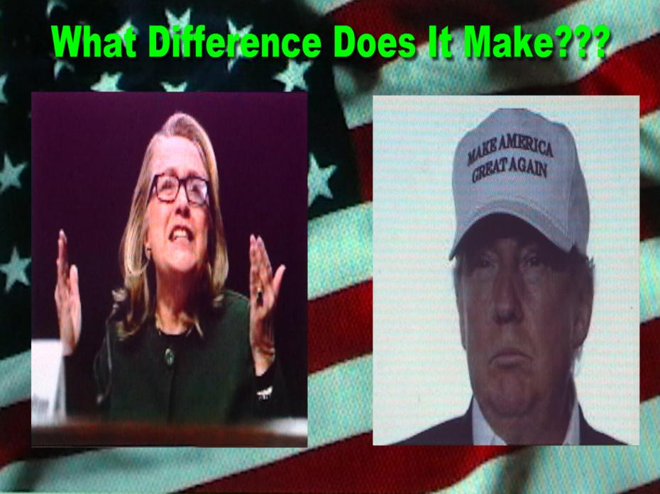 The grand dilemma facing Americans for president are Hillary Clinton and Donald Trump.