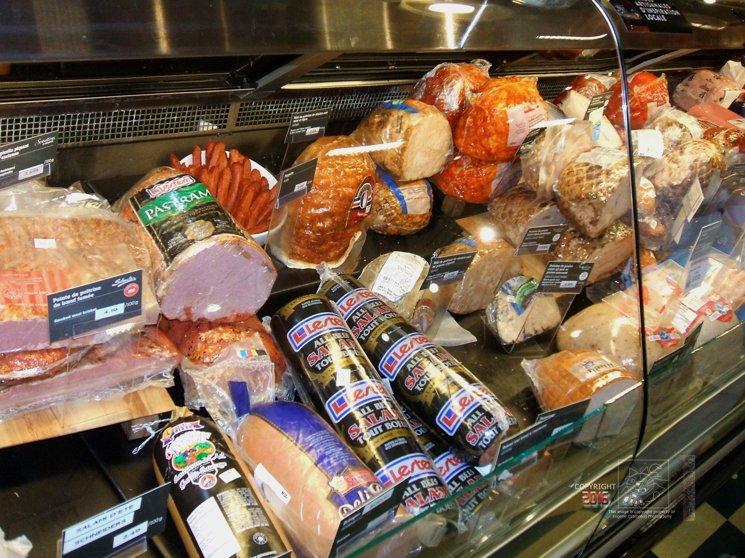 "Sodium generous ""delicious"" processed meat products are not healthy to consume regularly."