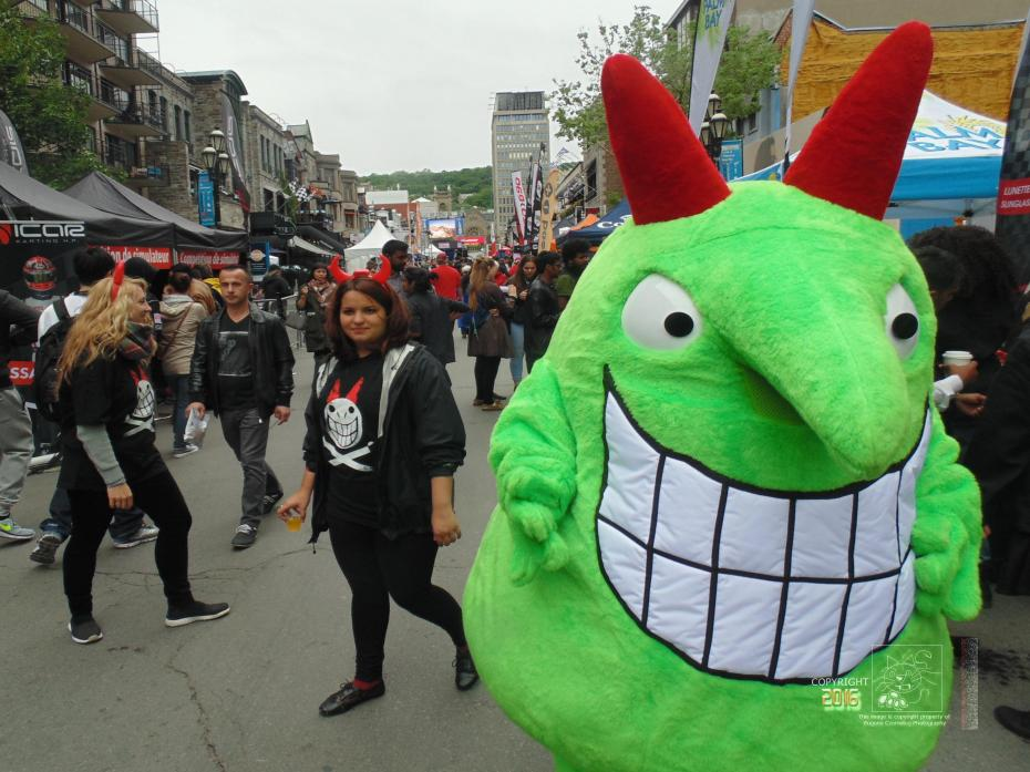 Nothing is sacred when green devil Victor and associates do mayhem on Montreal's Crescent street.