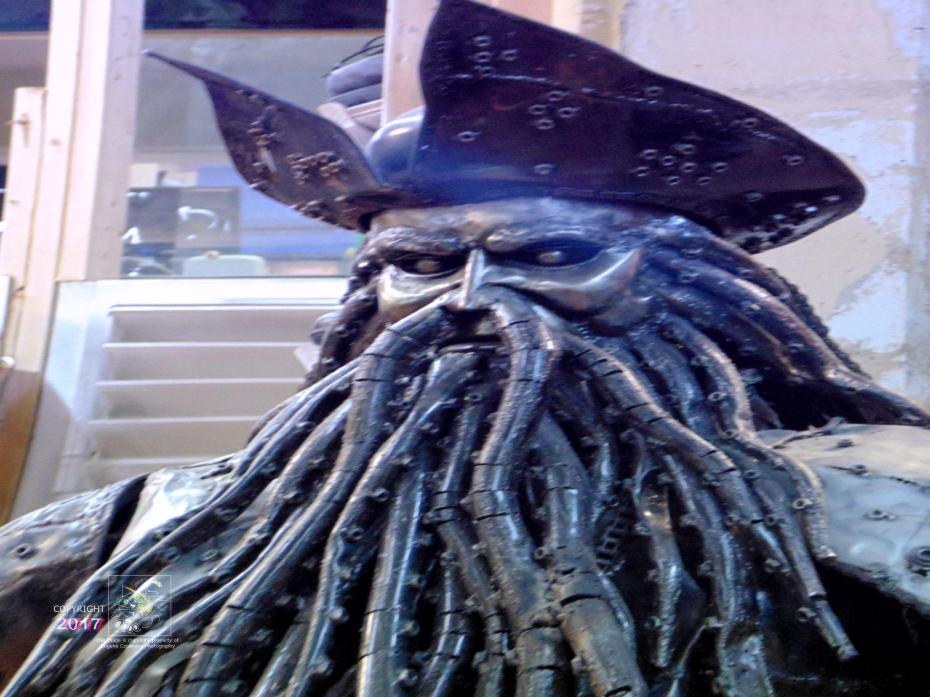 Cranky old Davey Jones condemned to skipper mysterious, ghost-ship, man-of-war, Flying Dutchman until Doomsday.