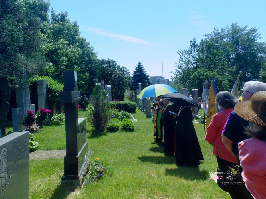 """Earth to earth, ashes to ashes, dust to dust.."", words heard during a Christian burial service over grave."