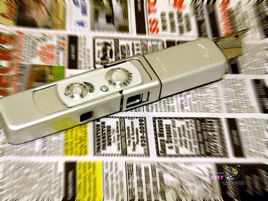 Minox camera a timely apparatus perfect for covert intelligence work stealing classified information during in last century.