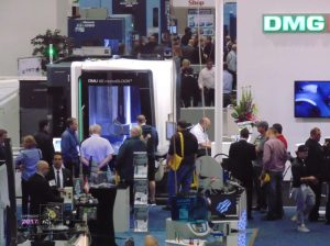 Technical collaboration in sharing know how by technology companies at 2016 Montreal Manufacturing Technology Show shown.