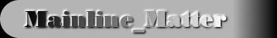 Mainline_Matter logo