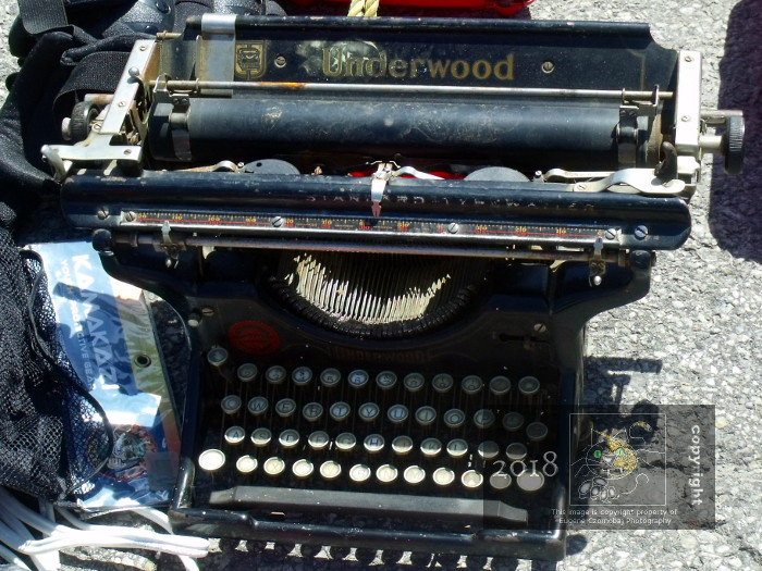Underwood typewriter is one of important old brands and techology to disappear before 21st century.