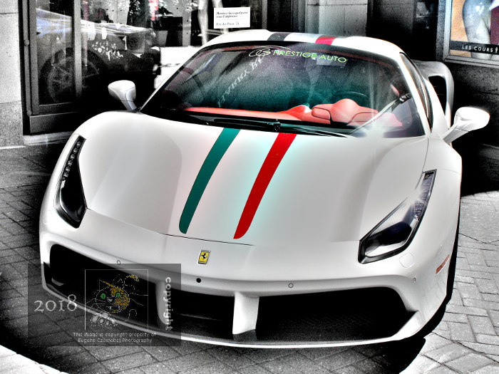 Ferrari introduced 488 GTB as replacement for normally aspirated model 458 sports car can churn 661 horsepower.