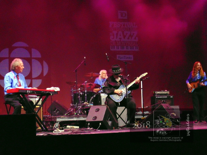 Returning Jazz legend Bryan Lee's new wrinkle was a brand new band of mostly seniors creating fantastic show on CBC stage.