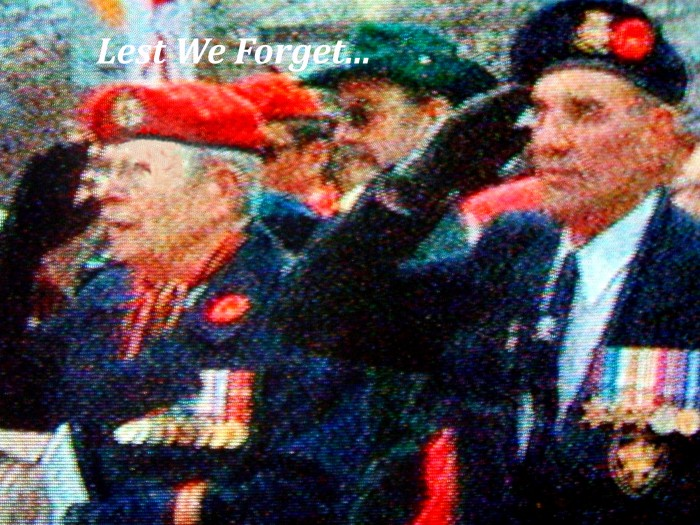 Some claimed WWI as the war to end all wars yet it continues happening, today is Remembrance Day precisely 100 years later.