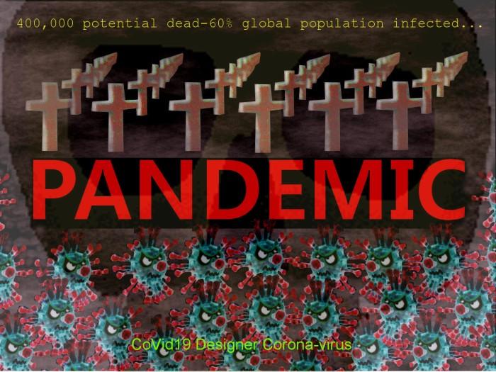 CoVid19 designer pandemic