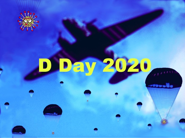 June 6, 2020 is D Day, remembering Normandy 1945